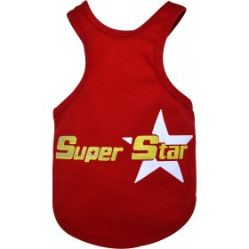 Polera Super Star Roja