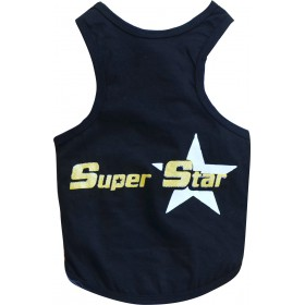 Polera Super Star Negra