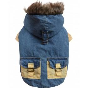 Chaqueta Jeans con Gorro...